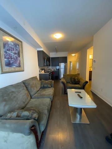 A luxury condominiums unit with indoor pool