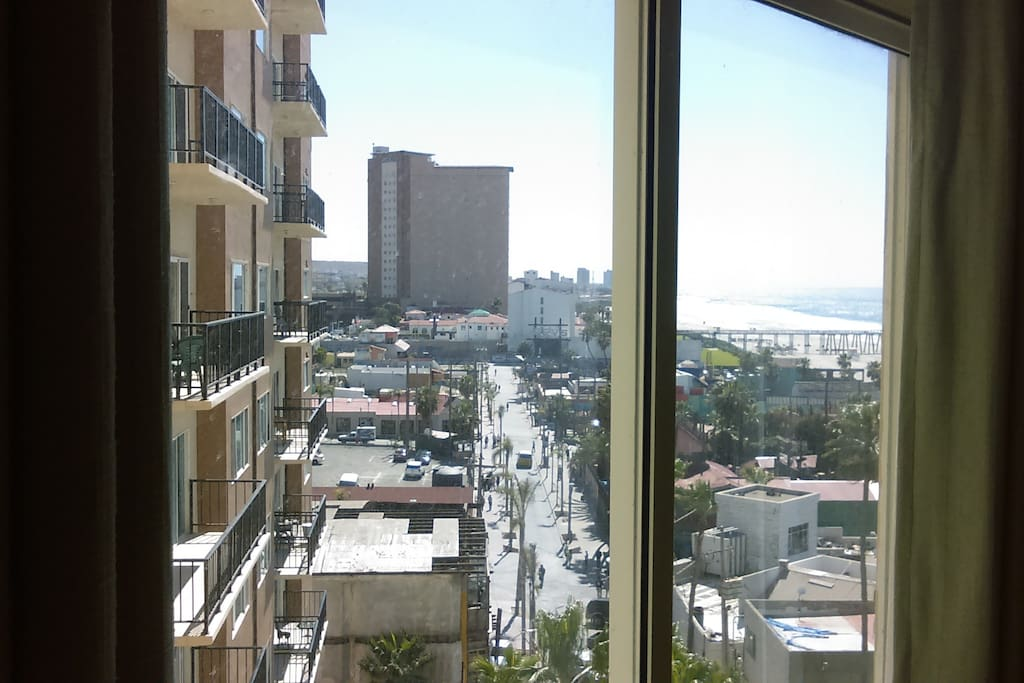 View to Rosarito Beach Hotel