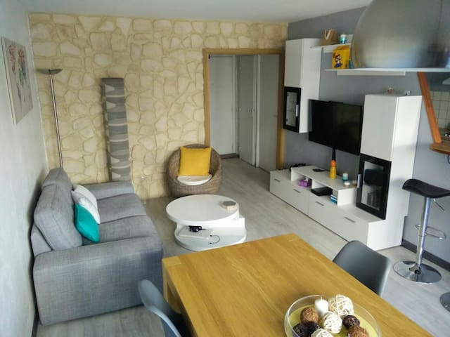 Appartement cosy 70 m2 entre Paris et Disneyland - Noisy-le-Grand - Apartment