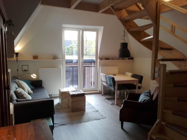 Spacious artist's loft in centre of Haarlem