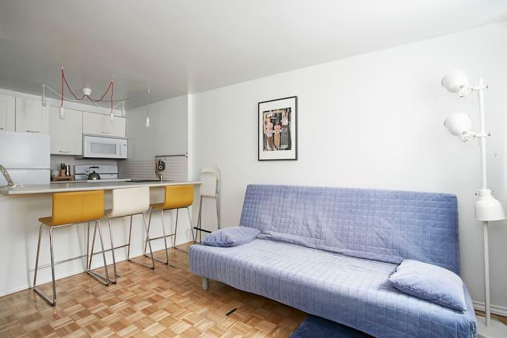 The Plush Fish apartment - Монреаль - Квартира