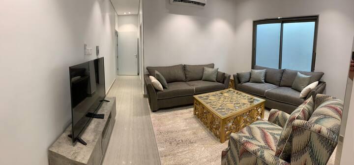2 bedroom,private entrance شقة غرفتين مدخل خاص