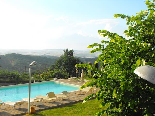Panoramic swimming pool.