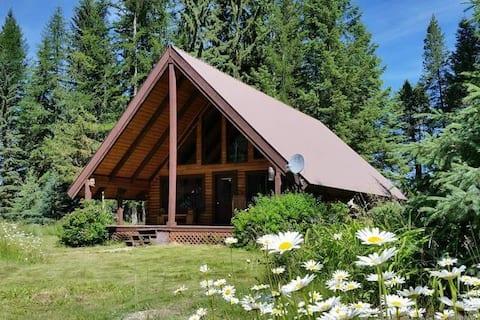 Three Bears Cottage. Adorable log cabin!