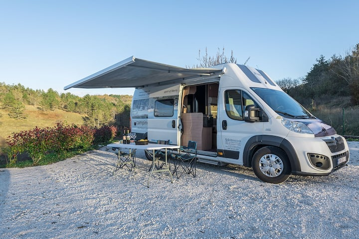 CAMPER ADRIATIC MAX 128 ideally for a family