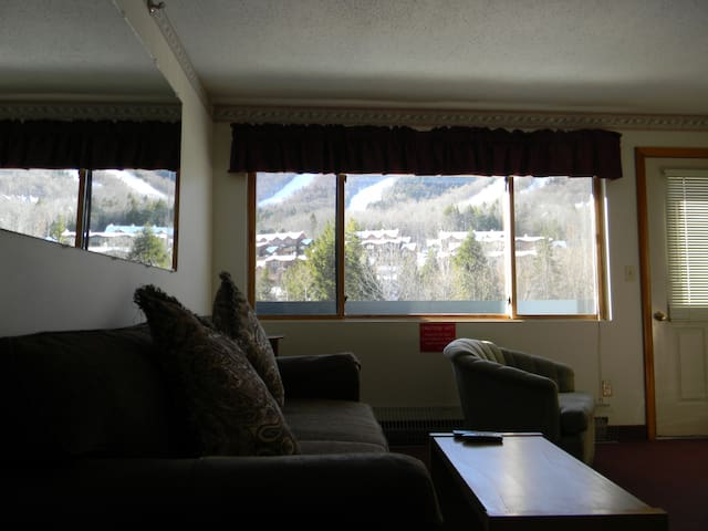 Sunday River Slopeside studio Condo-clean & cozy! - Newry
