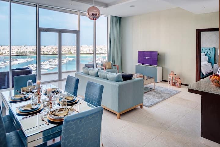 Incredible Full Sea View - 3BR Palm Jumeirah