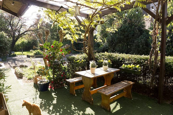 spacious familyhouse with garden