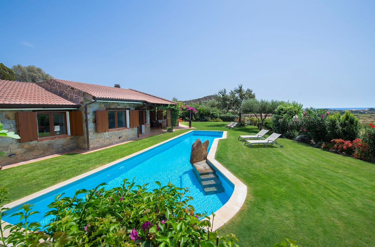 ... View Of The Garden And The Pool, 15m Long