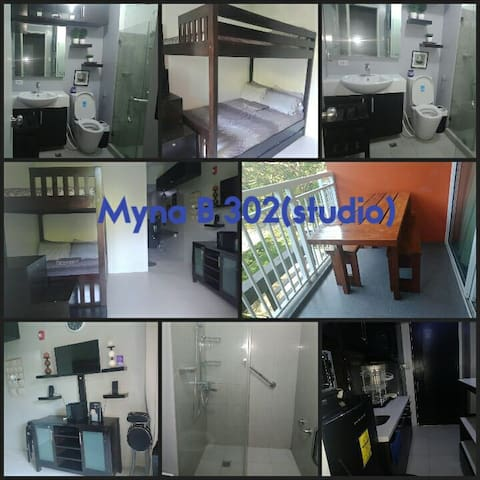 Furnished studio type condo unit in Pico for rent