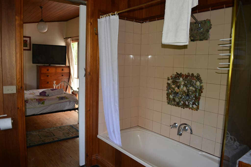 Walk in large private bathroom.