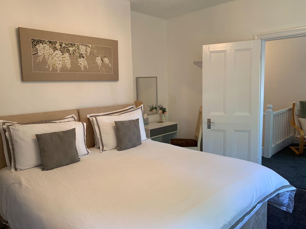 Welcome to our gorgeous apartment. It is fantastic value, which  combined with the high quality and central location with off road parking, means we are hugely popular. Superhosts for over 3 years! We would be delighted to see you soon.