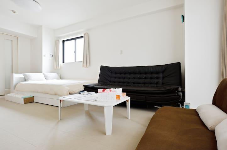 "8min Kuromon""10min Namba""15min Dotonbori""601 - Naniwa-ku, Ōsaka-shi - Apartment"