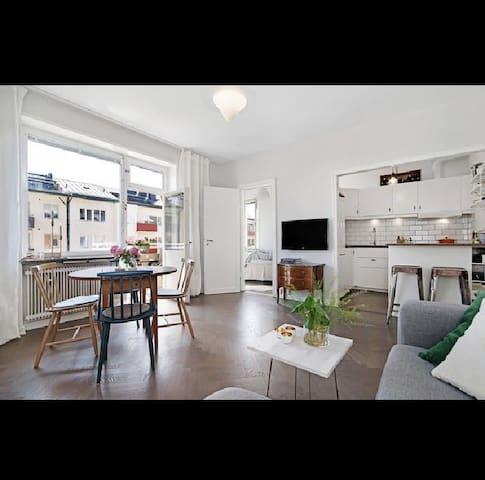 Beautiful apartment by Karlaplan - Stockholm - Lejlighed