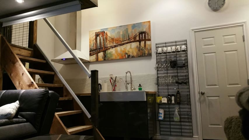 New -Executive Micro-loft- Walkerville - Windsor - Loft