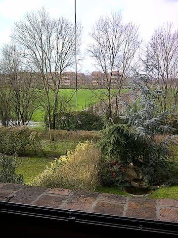 Camera con bagno privato vista giar - Ferrara - Appartamento