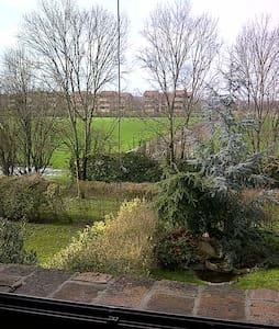 Camera con bagno privato vista giar - Ferrara - Lejlighed