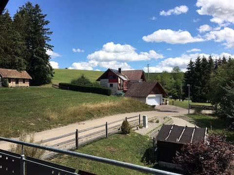 Rekreácia v prírode Schwarzwaldu