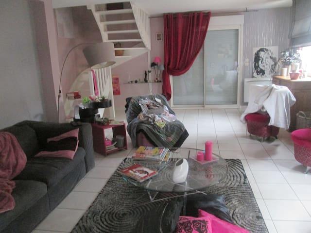 maison 20 min par transport en commun du CAPITOLE - Castelginest - 타운하우스