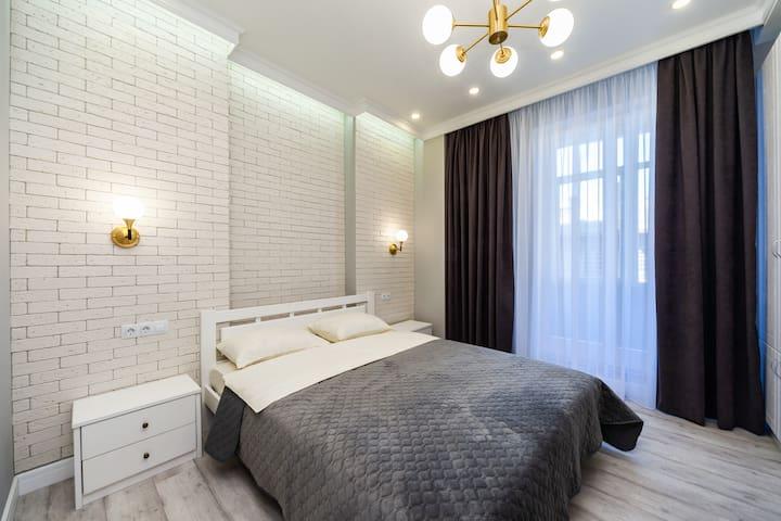 Luxury Apartment (City Center Otrada Beach Club)