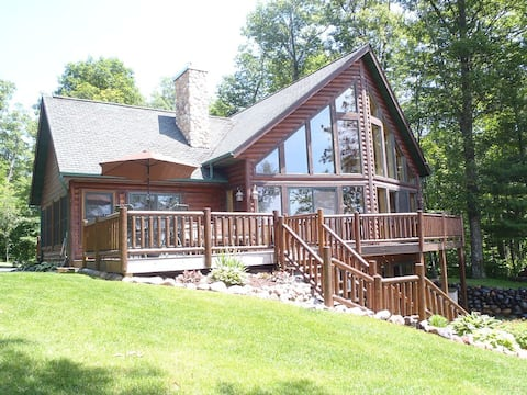 Prow Front Chalet. Walkout Basement. Approx 3200 sq ft living area. Non-Smoking.