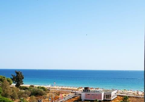 Khung cảnh biển căn hộ ấm cúng!