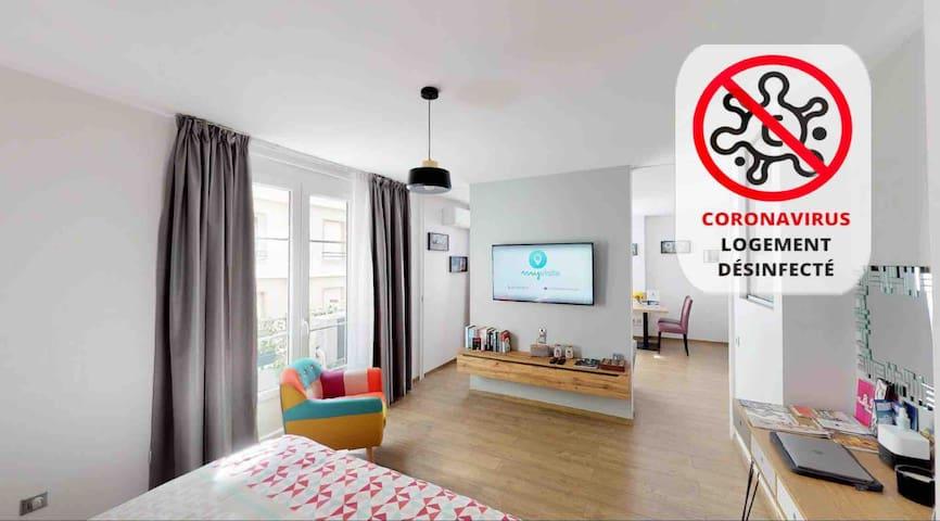 Appartement cosy au cœur de Grenoble