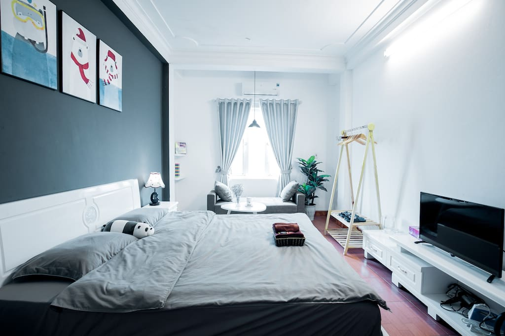 Deluxe room with all things you need