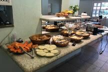 Café da manhã (não incluso)