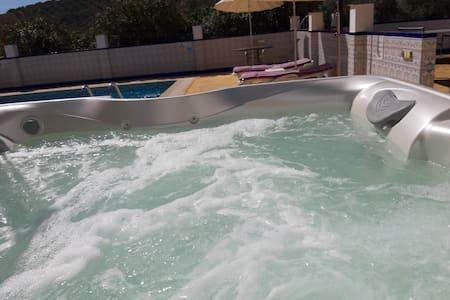 Luxury Poolside Apartment 1 - Hot Tub and Pool