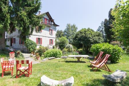 Villa delle Azalee. Orta See