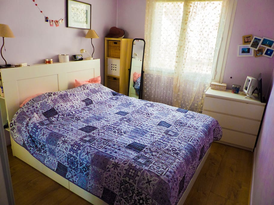Chambre 1 - Un lit double 160x200cm