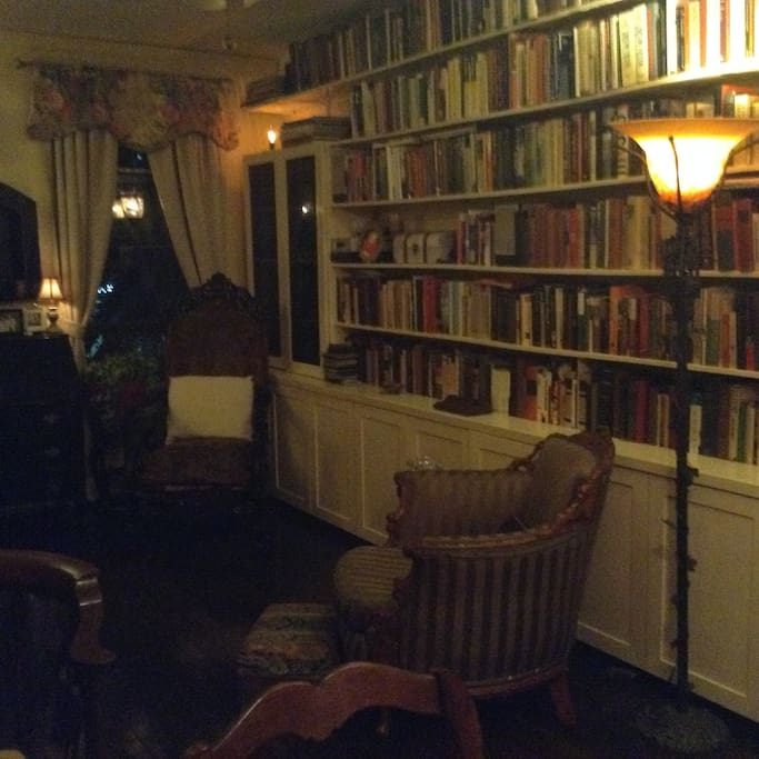 Over 1500 books to peruse when you need a break from the whirlwind of Manhattan