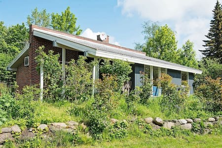 Modern Holiday Home in Rønde with Terrace