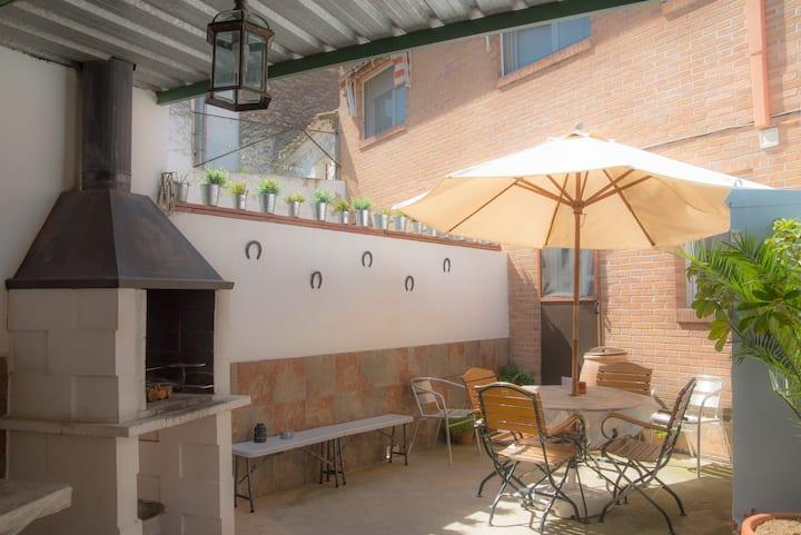 Casa rural  cerca de Zaragoza, de 4 a 10 pers.