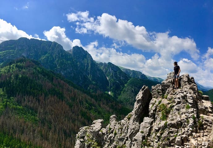 Our hiking trips is a must for every mountain lover. Join us on our journey to explore the Tatras.