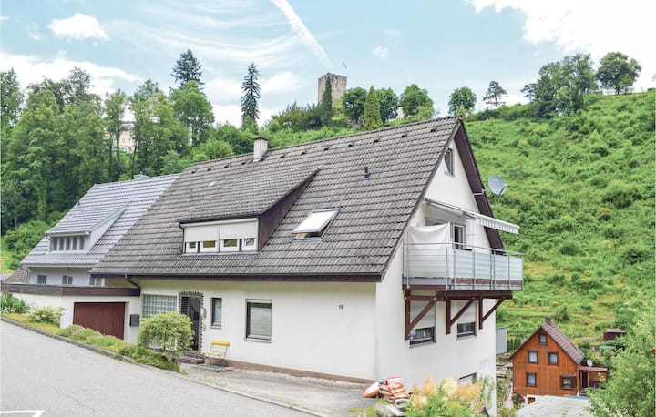 Awesome home in Hornberg with WiFi and 2 Bedrooms