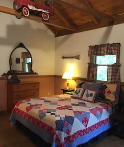 Queen Bed in Cabin 3.