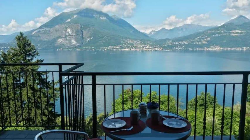 lake Como home with stunning view over lake