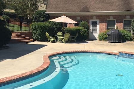 Private Guest House by the Pool - Conyers - Byt
