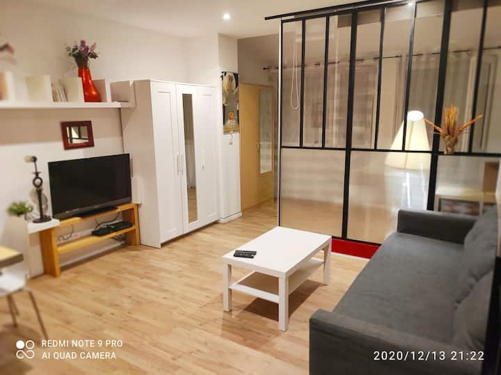 Appartement cosy proche Paris