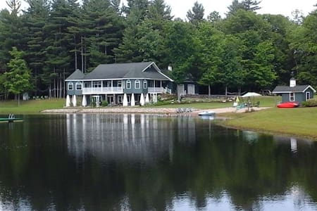 Luxury Custom Beachfront Estate in Northern NY - Brasher Falls-Winthrop