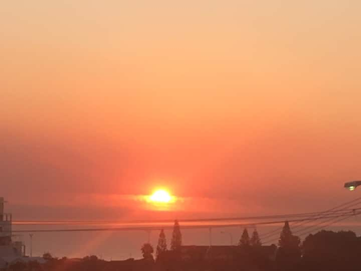 Scarborough Sunset  Beach Vibes