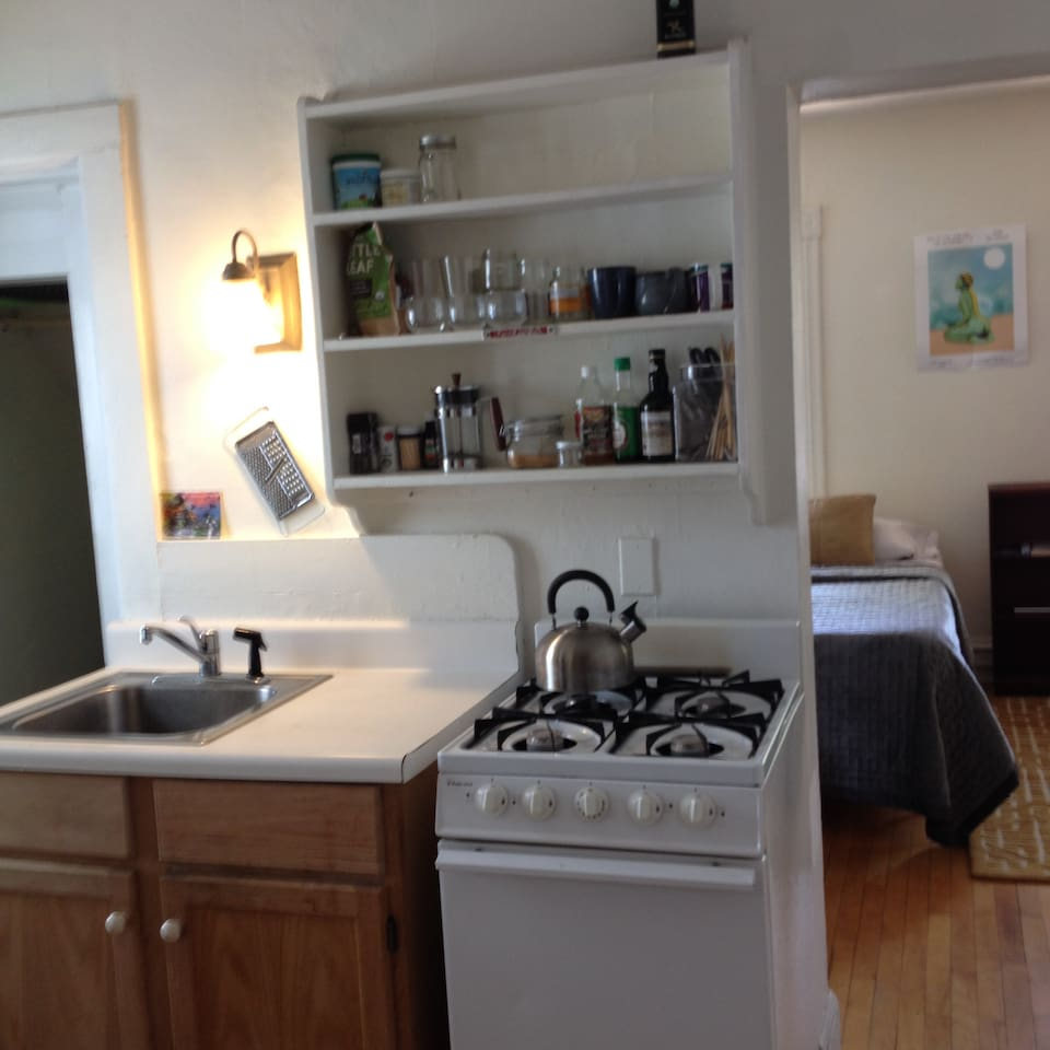 Studio For Two, Walk Downtown + Parking