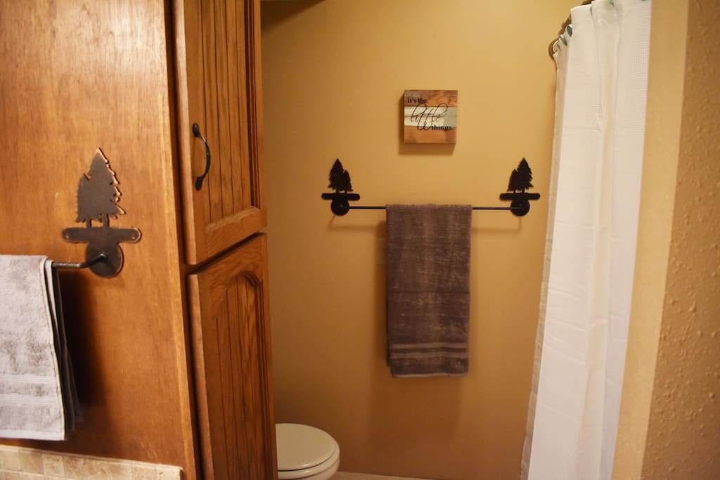 Bathroom on Main Floor