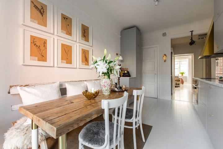 Newly renovated appartement in central Stockholm - Stockholm - Leilighet