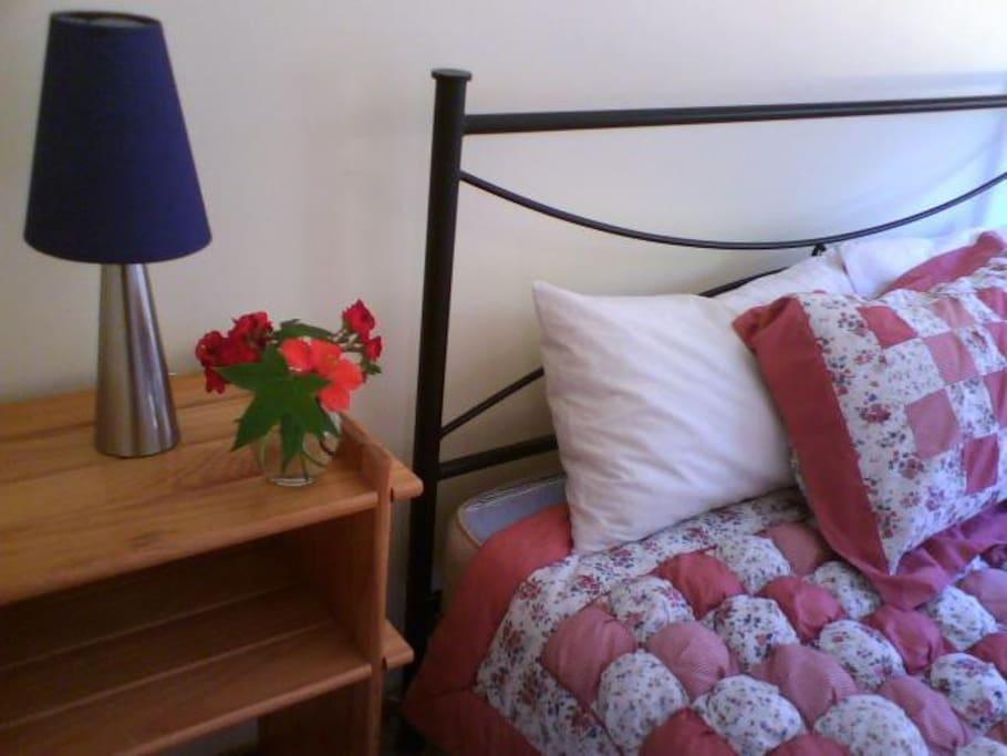 Seen size master bedroom