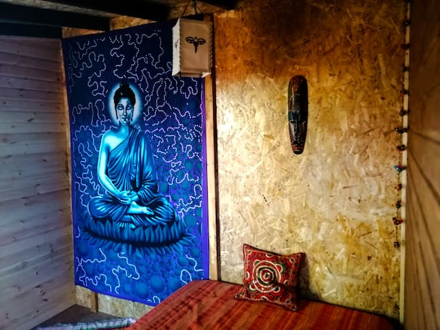 "Los Duendes del Sur hostel/single room""Siddhartha"""
