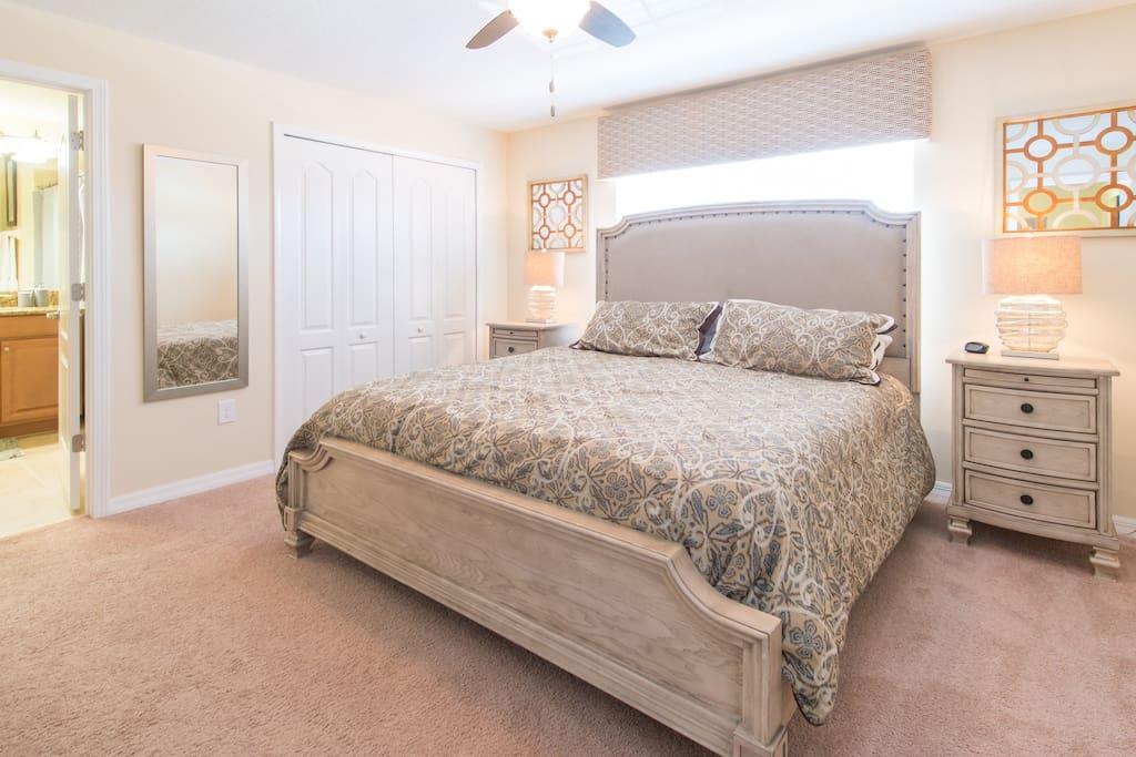 Bedroom 2 (master bedroom - upstairs)