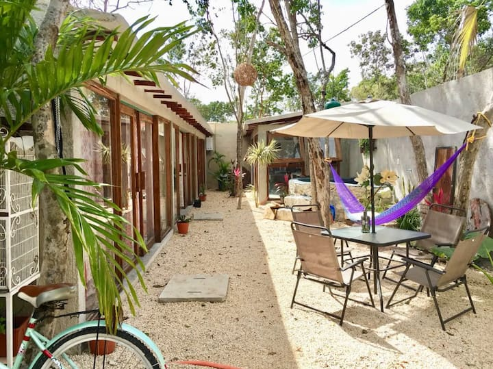 Tulum Rustic Rooms on the Road to the Beach 2